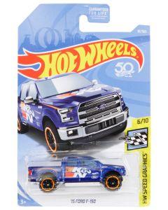87-4062 K&N Toy; Hot Wheels, K&N F150 Blue