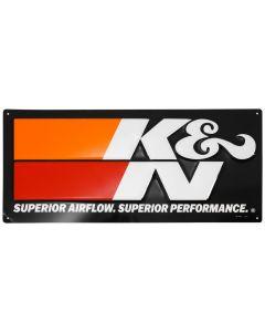 89-11837-2 K&N K&N Embossed Metal Sign