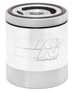 SS-1002 K&N Oil Filter; Billet