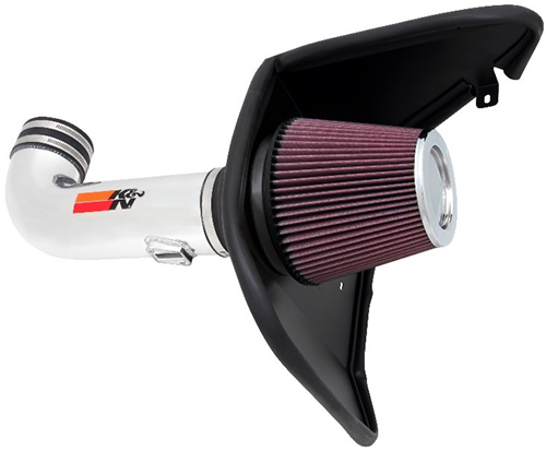 Mandrel-bent aluminum cold air intake system high airflow
