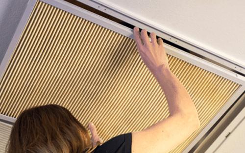 k&n home air filter installation