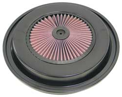 Black Air Filter Top