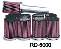 K&N Air Filter for Kinsler Non-Siamesed Fuel Injector Stacks